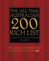 The All-Time Australian 200 Rich List: From Samuel Terry 'The Convict Rothschild' to Kerry Packer - William D. Rubinstein
