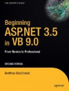 Beginning ASP.NET 3.5 in VB 2008: From Novice to Professional - Matthew MacDonald