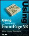 Using Microsoft FrontPage - Steve Banick