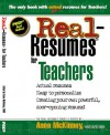 Real-Resumes for Teachers (Real-Resumes Series) (Real-Resumes Series) - Anne McKinney
