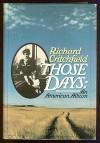 Those Days - Richard Critchfield