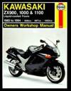 Haynes Kawasaki 2x900, 1000, & 1100 Ninjas 1983-94 - Mark Coombs