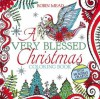 A Very Blessed Christmas Coloring Book - Robin Mead