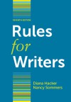 Rules for Writers with Writing about Literature (Tabbed Version) - Diana Hacker, Nancy Sommers
