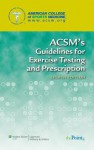 ACSM's Resource Manual for Guidelines for Exercise Testing and Prescription [With 2 Paperbacks] - American College of Sports Medicine