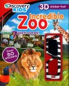 Incredible Zoo (Discovery Kids) (Discovery Kids 3d Sticker Fun!) - Parragon Books