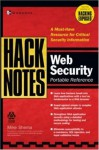 Hacknotes Web Security Portable Reference - Mike Shema