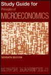 Principles Of Microeconomics Study Guide - Edwin Mansfield