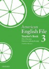 American English File 3 Teacher's Book - Clive Oxenden, Paul Seligson, Christina Latham-Koenig