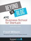 Business School For Start ups - Fred Wilson