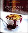 Cakes, Cookies, Pies & Tarts - Williams-Sonoma
