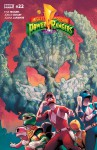 Mighty Morphin Power Rangers #22 - Matt Herms, Jonas Scharf, Brittany Peer, Jamal Campbell, Kyle Higgins