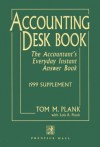 Accounting Deskbook, 1999 Supplement - Tom M. Plank, Lois Ruffner Plank