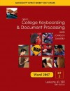 Gregg College Keyboarding & Document Processing, Word 2007 Update, Kit 2, Lessons 61-120 - Scot Ober, Arlene Zimmerly, Jack E. Johnson