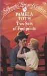 Two Sets of Footprints - Pamela Toth