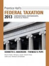 Prentice Hall's Federal Taxation 2013 Corporations, Partnerships, Estates & Trusts Plus New Myaccountinglab with Pearson Etext -- Access Card Package - Kenneth E. Anderson, Thomas R. Pope