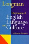 Longman Dictionary of English Language and Culture - Addison Wesley Longman