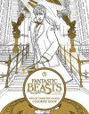 Fantastic Beasts and Where to Find Them: Magical Characters and Places Coloring Book - HarperCollins Publishers