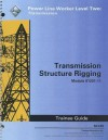 Transmission Structure Rigging Trainee Guide, Module 81201-11: Power Line Worker Level Two: Transmission - National Center for Construction Educati