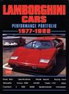 Lamborghini Cars Performance Portfolio 1977-1989 - R.M. Clarke