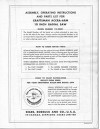 "Craftsman 113.29401 10"" Accra-Arm Radial Saw Instructions - Misc"