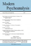 Modern Psychoanalysis, Volume 32, Number 1 - Center For Modern Psychoanalytic Studies