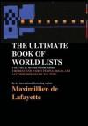 The Ultimate Book of World List - Maximillien de Lafayette