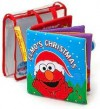 Elmo's Christmas Interactive Soft Cloth Book - Soft Play, SoftPlay