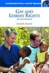 Gay and Lesbian Rights: A Reference Handbook - David Newton