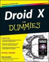 Droid For Dummies (For Dummies (Computer/Tech)) - Dan Gookin