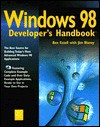 Windows 98 Developer's Handbook [With CDROM Includes All of the Example Codes Used In...] - Ben Ezzell, Jim Blaney