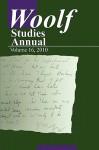 Woolf Studies Annual Vol. 16 - Mark Hussey