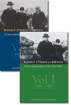 Rudolf Steiner in Britain 2 Volume Set: A Documentation of His Ten Visits - Crispian Villeneuve