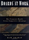 Boards At Work: How Corporate Boards Create Competitive Advantage (J-B US non-Franchise Leadership) - Ram Charan