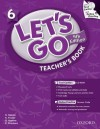 Let's Go 6 Teacher's Book with Test Center CD-ROM: Language Level: Beginning to High Intermediate. Interest Level: Grades K-6. Approx. Reading Level: K-4 - Ritzuko Nakata, Karen Frazier, Barbara Hoskins