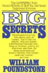 Big Secrets - William Poundstone