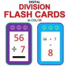 Digital Division Flash Cards in Color (1-9 Shuffled Twice) - Chris McMullen, Carolyn Kivett