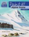Alpine Scene in Watercolour - Arnold Lowrey