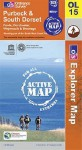 Purbeck And South Dorset (Os Explorer Map Active) - NOT A BOOK