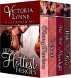 Her Hottest Heros (4 full length historical romances) - Victoria Lynne