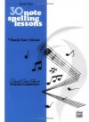 30 Notespelling Lessons (David Carr Glover Piano Library) - J. Glover, David Carr