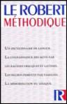 Le Robert Méthodique - Collectif