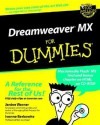 Dreamweaver MX for Dummies [With CD-ROM] - Janine Warner