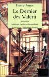 Le dernier des Valerii (Poche) - Henry James, Louise Servicen