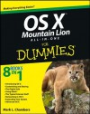 OS X Mountain Lion All-in-One For Dummies - Mark L. Chambers