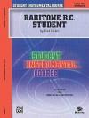 Student Instrumental Course Baritone (B.C.) Student: Level II - Fred Weber