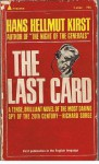 The Last Card - Han Hellmut Kirst, J. Maxwell Brownjohn