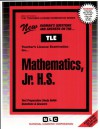 Mathematics: Junior High School (Teachers License Examination Serie St-40) - National Learning Corporation