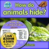 How Do Animals Hide? - CD + Hc Book - Package - Bobbie Kalman
