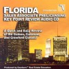 Florida Salesperson Prelicensing Key Point Audio Cd: A Quick And Easy Review Of The Gaines, Coleman And Crawford Classic! - George Gaines Jr., David S. Coleman, Linda L. Crawford